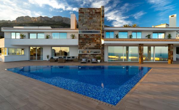 Moderna Villa De Lujo En Altea
